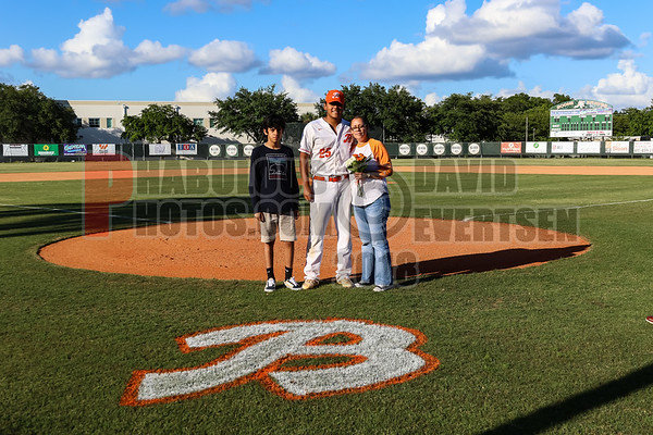 Boone Varsity Baseball Senior Night - 2019
