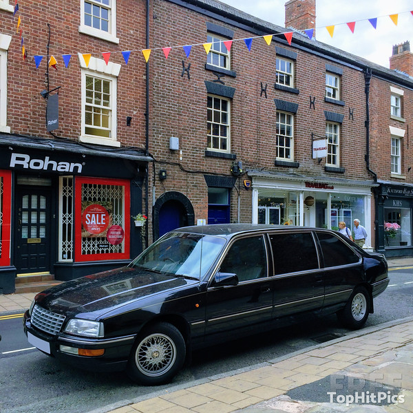 A Vauxhall Omega Limousine Parked up in Knutsford, Cheshire