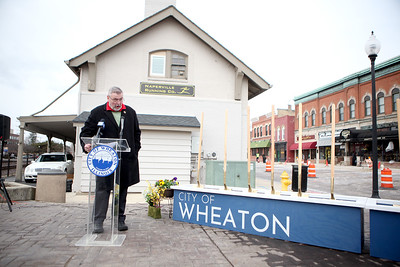 Wheaton Streetscape Project Groundbreaking