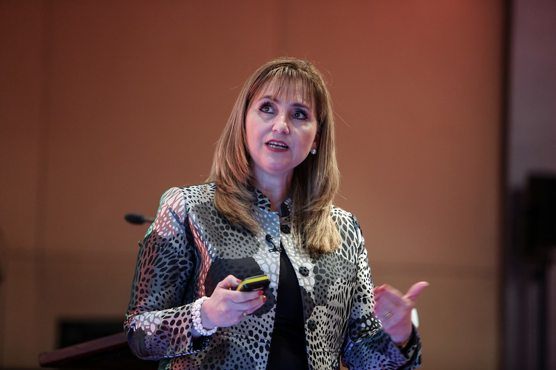 Gloria Guevara Manzo, President and CEO, World Travel and Tourism Council (WTTC) at the IMEX Policy Forum