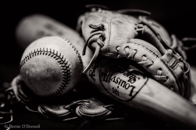 Baseball Still Life