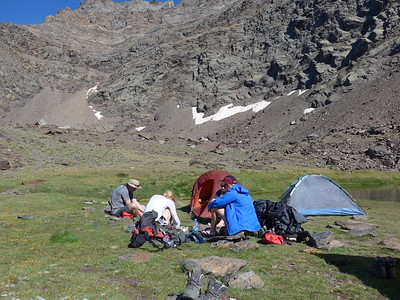 Northern Flanks 3 Day Trek July 2015