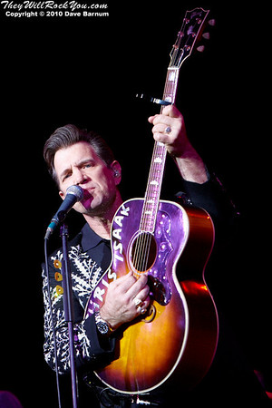 Chris Isaak   December 7, 2010 The Calvin Theater - Northampton, MA  Photos by: Dave Barnum