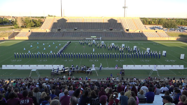 UIL Marching Band Contest 10/22/2016
