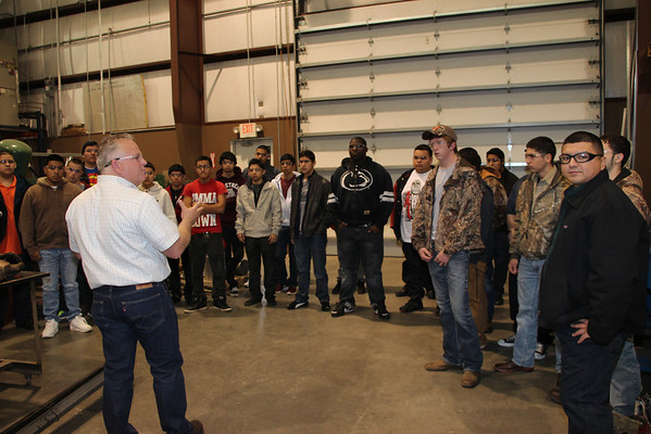 Ace Industrial Services provides tours for SCC students