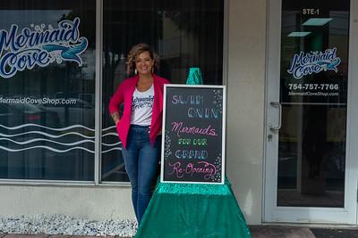 Mermaid Cove Shop Grand Opening