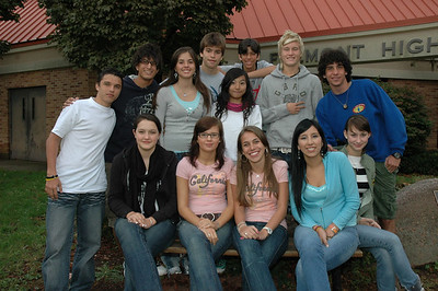 High School Foreign Exchange Students - 2006-2007