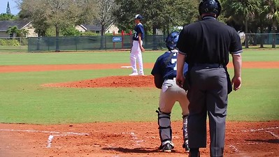 Tristan Back-to-Back K's against semi-pro team -- March 2017 age 14