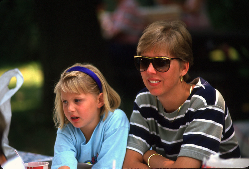 Gerrie Kinsey Castaldo and daughter