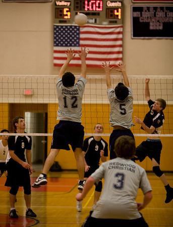Boys' Varsity Volleyball - March 20, 2008