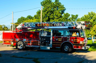 09-12-16 Coshocton FD Garage Fire