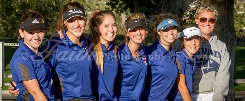 2014 Girls Golf - RHS, SS, McQ, Reed, NVllys