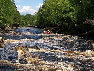 Kettle River Rafting with St. Cloud State U Outdoor Program