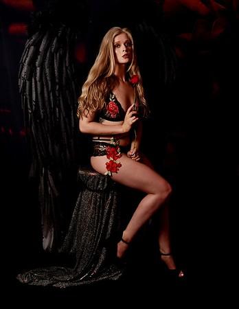 Angel Grey Wings