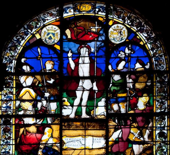 Rouen, Saint-Patrice Church, The Resurrection