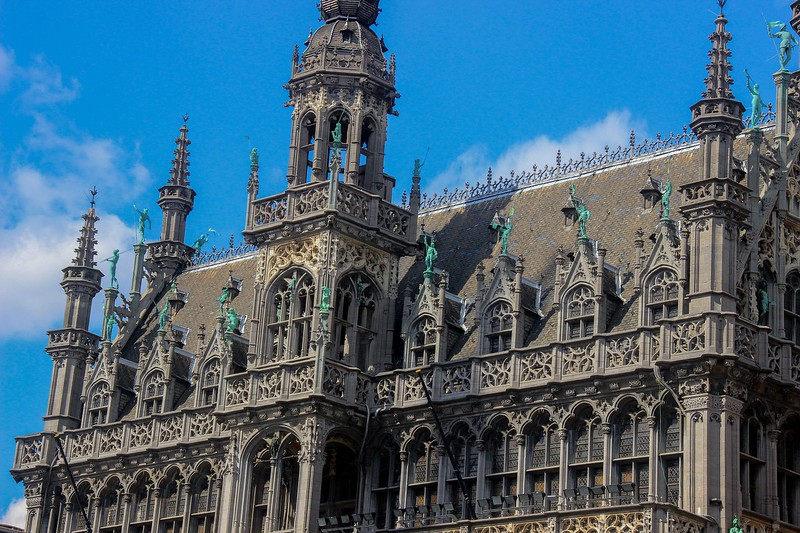 We are now in Brussels, Belgium and this is the City Museum building.