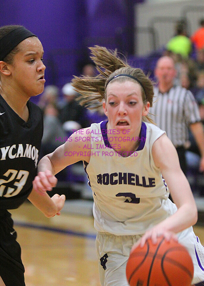 2015-16 RTHS LADY HUBS BASKETBALL vs SYCAMORE