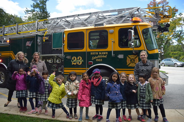 Bryn Mawr Fire Company Visits the ECC 2018