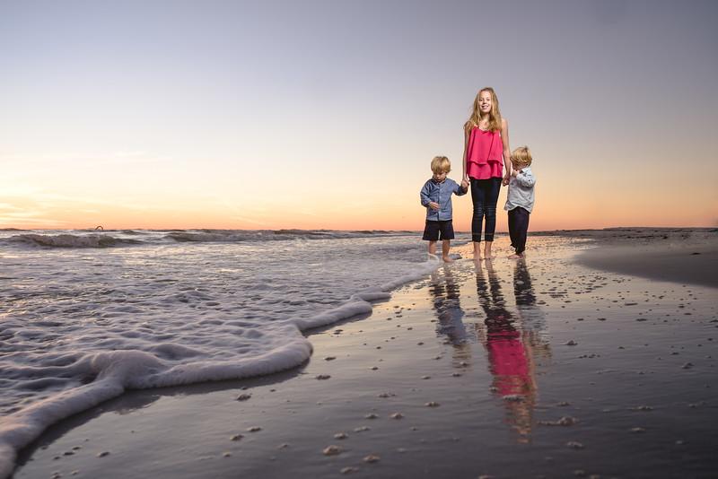 TradeWinds Island Resort Family Beach Portraits by Treasure Island FL Photographer Kristen Sloan