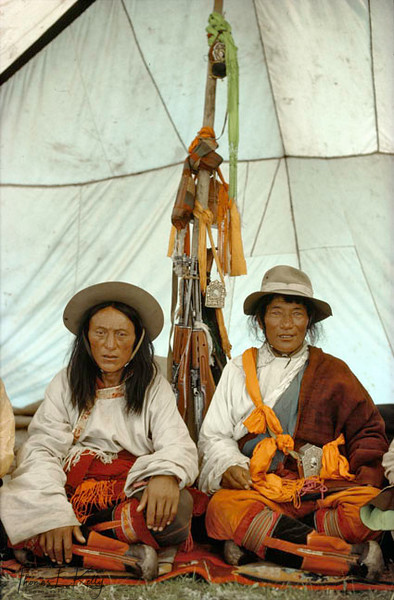 Khampa cowboys,TibetLhasa valley was full of refugees from Eastern Tibet, mostly Khampas