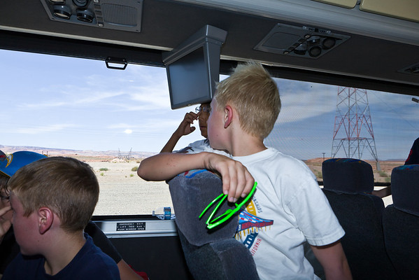 2011 CCS 6th Grade Trip - Day 3 - May 6th - Colorado River Discovery Raft Trip