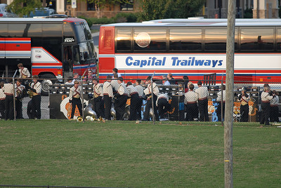 GHS Band at Hendrsonville 2011
