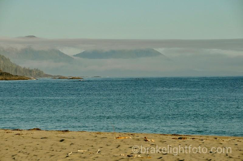 Early Morning Fog  over Quatsino Sound
