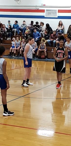 Jr High Basketball-Kamryn