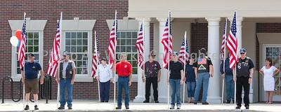 Veterans Honor Garden Dedication 2012