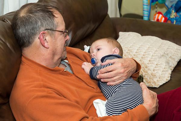 Tom & Kathy Visit December 2013