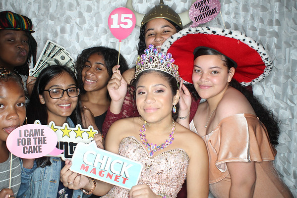 Lissette's Photo Booth Pictures