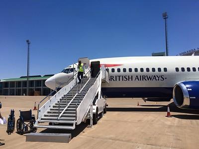 2015 - Zambia - Livingstone - Airport