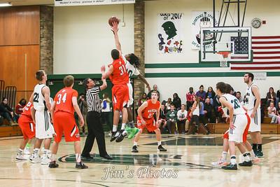 Madison Memorial Boys Basketball - Feb 07, 2014
