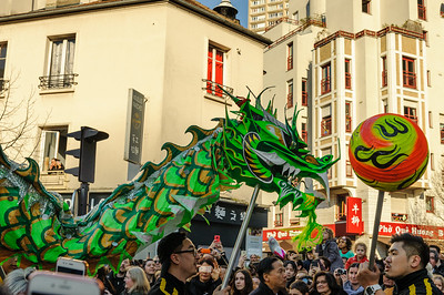 Chinese New Year Paris 2019