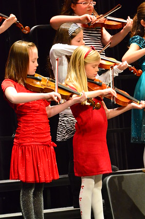 Pollard Winter Chorus and Band Concert