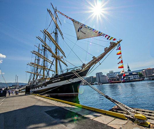Norway, Bergen, The Tall Ships Race 2014.