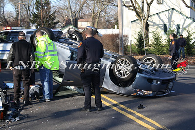 Lindenhurst F.D. Overturned Auto N. Strongs Ave & 26th St. 12-9-11