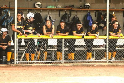 Timpson Lady Bears softball team takes on Garrison