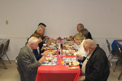 Veterans Day Breakfast, Church of Christ, 11/8/2014