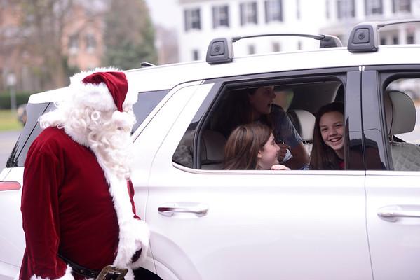 2020 St. Mary School Santa Drive-through