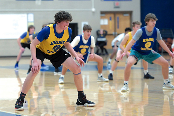Sheridan High School Basketball Practice Photos