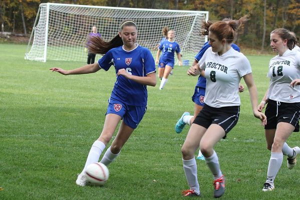 Girls' JV1 Soccer vs. Proctor | October 15