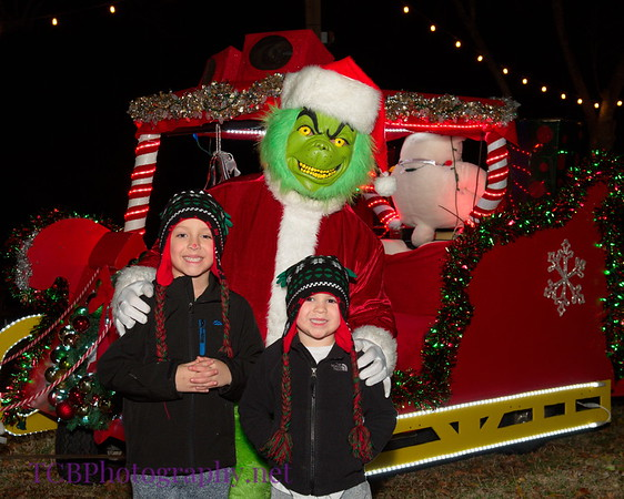 The Grinch at Three Acres Food Truck Park