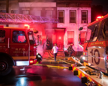 Newark, NJ Working Fire - 37.5 Emmett St - 7/2/21