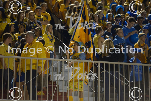 Neuqua Valley High School Football v Waubonsie Valley High School at North Central College in Naperville, Ill 10-11-13