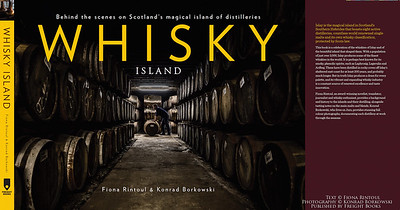 Award Winning  'WHISKY ISLAND' Book