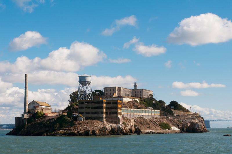 24 Oct 2012, San Francisco, California, USA --- Alcatraz island, San Francisco, California, USA --- Image by © Sergio J. Pitamitz/Corbis
