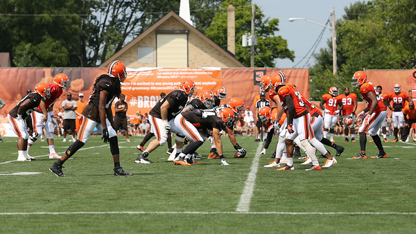 Browns Training Camp 2014