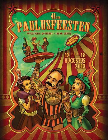 """Affiche """"Circus Paulus"""""""