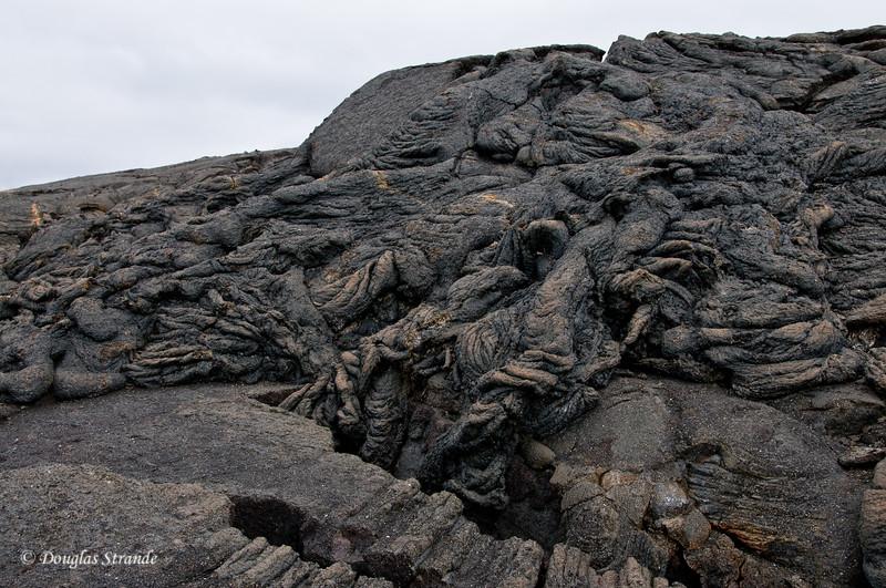 Rugged lava landscape of Punta Espinoza, Fernandina Island